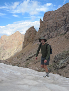 John Barry in Weminche Wilderness, Colorado